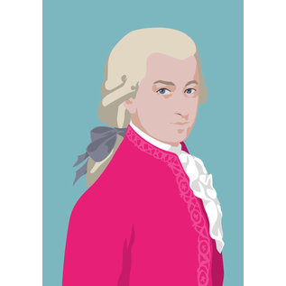 ng055 | Postkarte - Wolfgang Amadeus Mozart