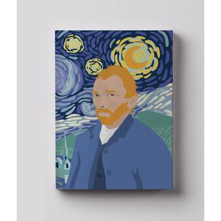 mu850 | Notizheft A6 - Vincent van Gogh