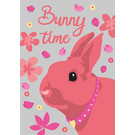 lu114 | luminous | Bunny Time - postcard A6