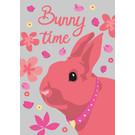 lu114 | Postcard - Bunny time