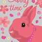 lu114   luminous   Bunny Time - postcard A6