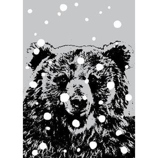 ff08710 | Postcard - Bear in Snow