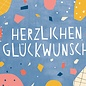 df301 | Designfräulein | Congratulations - postcard A6