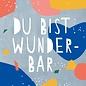 df304 | Designfräulein | You're Marvellous - postcard A6