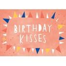 Designfräulein df308 | Designfräulein | Birthday Kisses - Postkarte A6