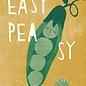 Designfräulein df309   Designfräulein   Easy Peasy - Postkarte A6