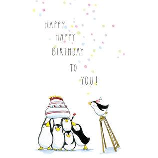 tg063 | Tabea Güttner | Happy, happy birthday to you - Klappkarte