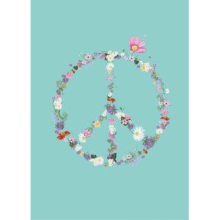 m-illu mi002 | m-illu | Peace - postcard A7