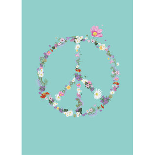 mi002 | m-illu | Peace - postcard A7