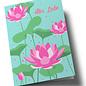 ha336 | happiness | Alles Liebe - Lotusblüten - Klappkarte