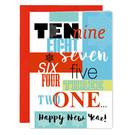 FZ-X-91605-X | Xmas Cards | Ten... nine... eight... - folding card A6