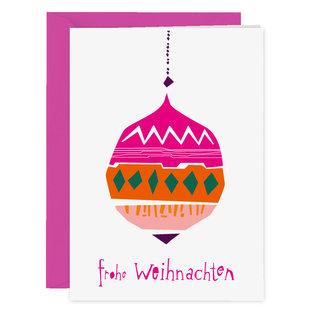 FZXM004 | Xmas Cards | Merry Christmas - folding card A6