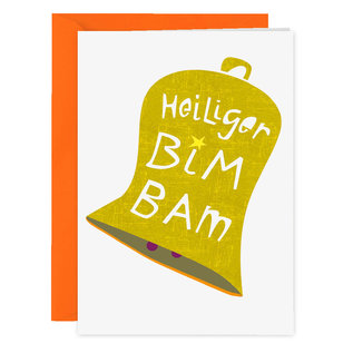 FZXM003 |  Xmas Karten | Heiliger BimBam - Klappkarte A6
