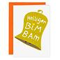 FZXM003   Xmas Cards   Holy BimBam - folding card A6