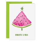 Xmas Klappkarten FZ-X-91602-X |  Xmas Karten | Fruity Xmas - Klappkarte A6