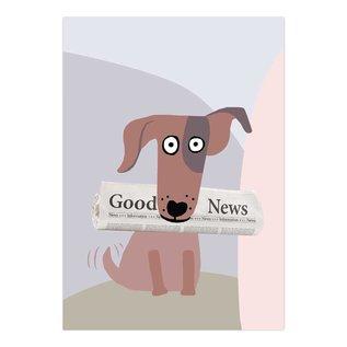 FZYP080 |  You've Got Post | Good News - Postkarte  A6