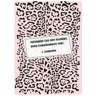 FZYP071 |  Youve Got Post | Leoparden - Postkarte  A6