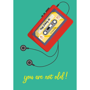 cc172 | Postcard  - you are not old