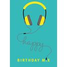 cc173 | Postcard  - Happy Birthday Mix