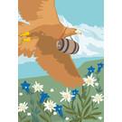 cc177 | Postcard  - Spring Eagle