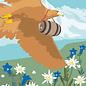 cc177 | Postkarte - Spring Eagle
