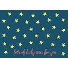 lu203 | Postcard  - lots of lucky stars