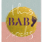 FZYP058 |  You've Got Post | this baby rocks - Postkarte  A6