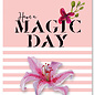 FZYP056 |  You've Got Post | Have a magic day - Postkarte  A6