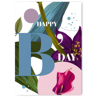 FZYP055 |  You've Got Post | Happy B-Day - Postkarte  A6