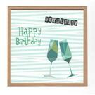 FZ-GS-91701    Der Gute Schein   Happy Birthday Voucher - gift card  A6