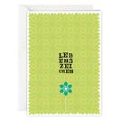 FZ-Z-31501    Zeilensprung   Lebenszeichen - folding card A6