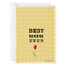 FZ-Z-31404 |  Zeilensprung | Best mom ever - folding card A6