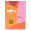 FZ-DK-76012 |  Dot.Komm | Enjoy Every Moment - wood pulp board A6