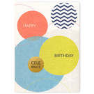 FZ-DK-76003 |  Dot.Komm | Happy Birthday - wood pulp board A6