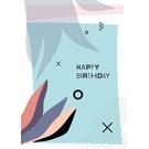FZ-F-28010 |  Feel.Free | Happy Birthday - Postkarte  A6