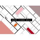 Good Vibes FZ-G-49009    Good Vibes   Good vibes only - Postkarte A6