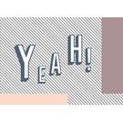 FZ-G-49001 |  Good Vibes | YEAH! - Postkarte A6