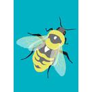 lu205 | Postkarte  - bumblebee
