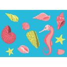 lu207 | Postcard  - sealife