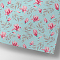 cc734   Magnolien - Geschenkpapier Bogen 50 x 70 cm