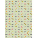 cc735 | dinos - wrapping paper Bogen 50 x 70 cm