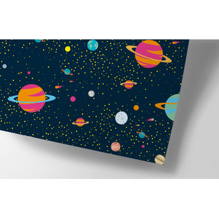 cc739 | Kosmos - Geschenkpapier Bogen 50 x 70 cm