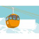 cc628 | crissXcross | gondola - Envelope set C6