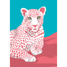 ma802 | Modern Art | Leopard - ArtPrint DIN A4