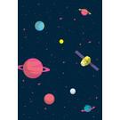 ma804 | Modern Art | Cosmos - ArtPrint DIN A4