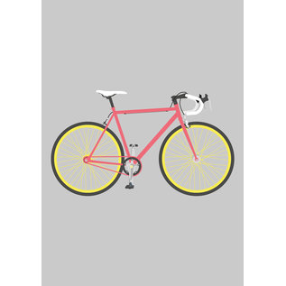 ma806 | Modern Art | Racing Bike - ArtPrint DIN A4