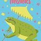 ha020 | happiness | frog - postcard A6
