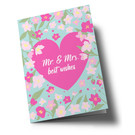 ha335 | happiness | Mr. & Mrs. - folding card