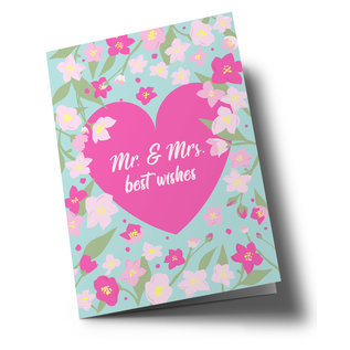 ha335 | happiness | Mr. & Mrs. - Klappkarte