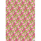 ha707   happiness   tiger - wrapping paper Bogen 50 x 70 cm
